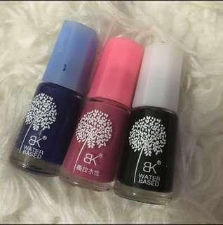 BK PEEL OFF NAIL POLISH