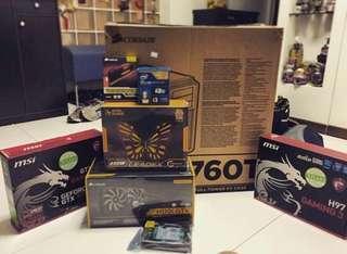 Custom i5 Gaming Rig GTX Corsair