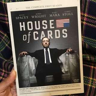 劇集DVD House of Cards