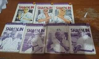 komik Shaolin 1 - 7 tamat lengkap