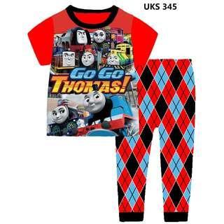 Go Go Thomas Short Sleeve Pyjamas for 2 to 7 yrs old