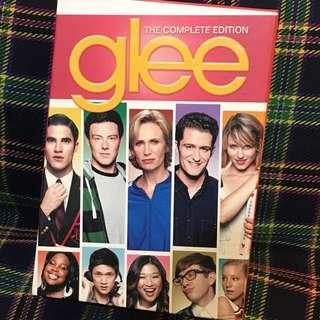 DVD glee season 1-3