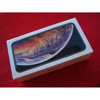 ※聯翔通訊 全新未拆 金 Apple iPhone Xs Max 256G 台灣公司貨 ※換機優先