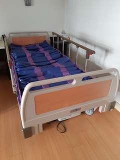 ABS三馬達電動床+變頻式21管氣墊床