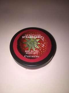 The Body Shop Body Butter Strawberry 50 ml