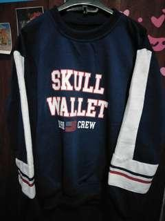 Skull Wallet Sweater