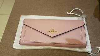 Authentic Soft Pink Coach Wallet Dompet Branded Original Baru Brand New