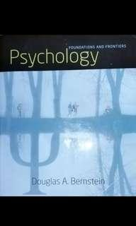 🚚 普通心理學原文課本Douglas A. Bernstein- foundation and frontier psychology