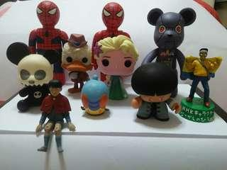 Cute figurines(10 for $10)