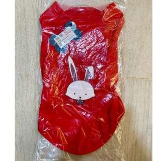 🚚 PLC Dog Vest (Red Rabbit) #springcleanandcarousell50