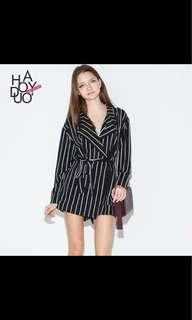 Haoduoyi Striped jumpsuit