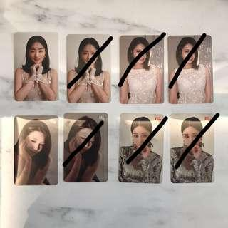 [WTS]Apink Percent Photocards