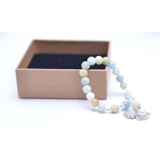Aquamarine Bracelet 四季海蓝宝手链