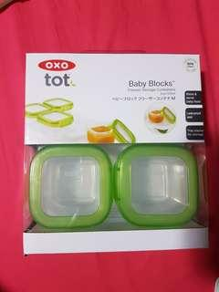 🚚 Bnib oxo tot baby blocks