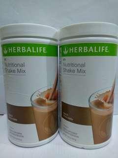 Herbalife nutrional shake mix chocolate