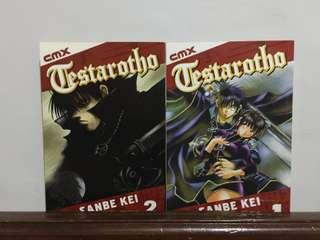 Testarotho vol. 1-2 English Manga