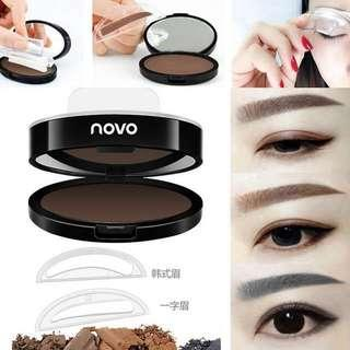 Back To Search Resultsbeauty & Health 5.5g Deep Grey Eyebrow Stamp Powder Seal Shadow Set Waterproof Long Lasting Natural Eyes Brow Palette Delicated Lazy Quick Easy