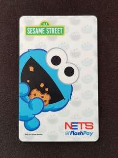 Cookie Monster EZ Link / Nets Flashpay Card