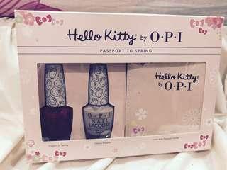 OPI nail polish & hello kitty