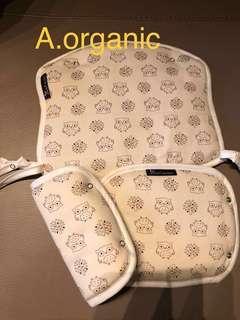 [現貨]有機棉咬咬巾胸前巾Auntmimi organic bib