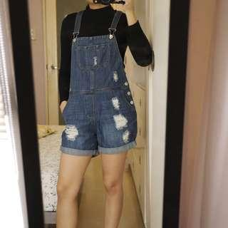 Mango Denim Jumper / Dungarees / Shorts