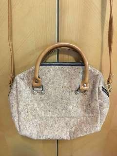 Thailand cork wood handbag 泰國水松袋
