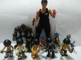 Cute jay & figurines(11 for $15)