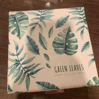 🚚 熱帶葉子首飾盒