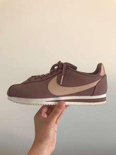 Nike Womens Old Rose Leather Cortez (Limited Ed)