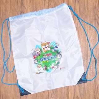 全新SHIBAinc柴犬工房 索繩袋 儲物袋 drawstring bag