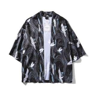 Oriental Print Shirt