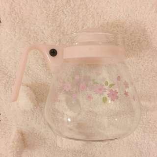 康寧pyrex 櫻花茶壺
