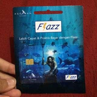 Aquaman Flazz BCA Card Limited Edition