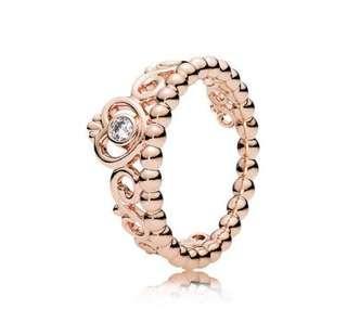 PANDORA- authentic princess ring