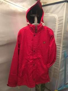Lyle & Scott 紅色外套