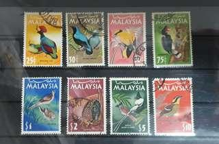 Malaysia stamps used