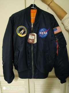 Alpha industries NASA MA1 飛行外套 m號
