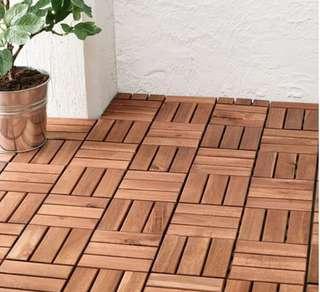 🚚 IKEA RUNNEN Floor decking
