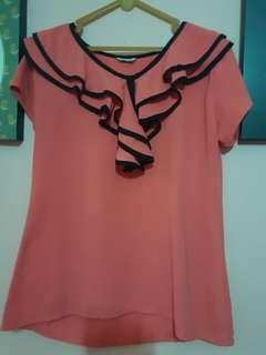 Baju formal pink