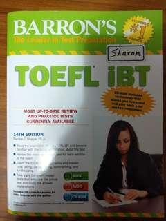 🚚 TOEFL iBT 托福考試用書
