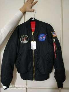 Alpha industries Apollo MA-1飛行外套  m號 阿波羅任務紀念款