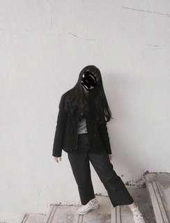 🚚 短板黑色外套