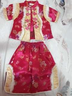 #CNY2019 Baju Cheongsam Anak