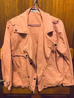 🚚 粉色襯衫外套