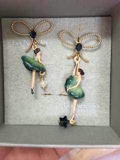 🚚 正品Les Nereies 芭蕾舞者耳環