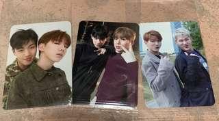 🚚 Monsta x kihyun units photocard shownu jooheon wonho