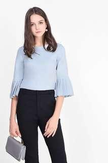 🚚 CHEAPEST fayth misha pleated sleeve top
