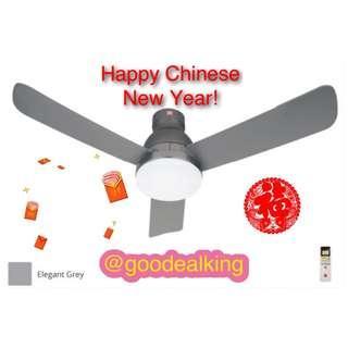 """BNIB KDK LED Light Ceiling Fan 48""""+ Free Mounting Bracket & Bolts Islandwide Delivery"""