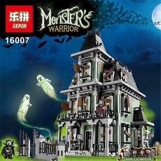 🚚 Lepin 16007 Haunted House