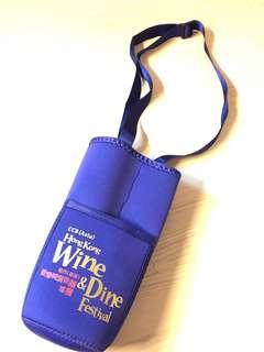2 Wine glass bags